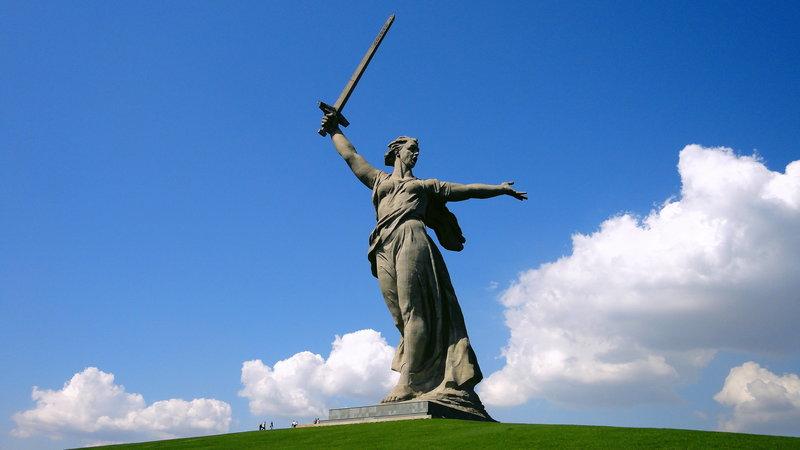 """Монумент """"Родина мать зовет!"""", Волгоград. Россия"""