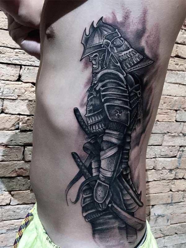 максимально востребованных фото татуировок с самураями термическую обработку