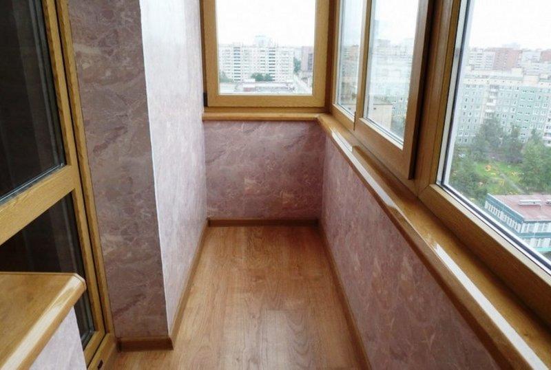 Панели пвх на балконе материалы для отделки балкона http://w.