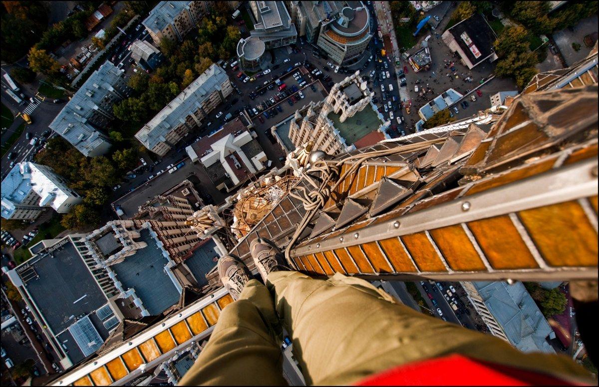 фото руферов с высоты эстетического наслаждения