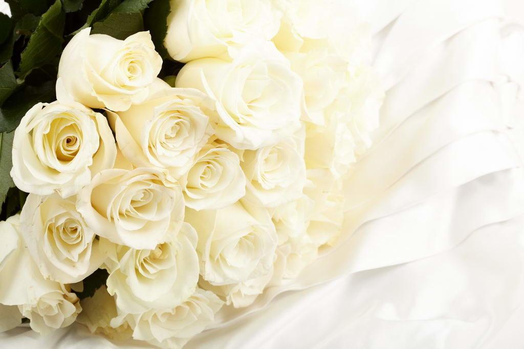 Картинка с юбилеем белые розы