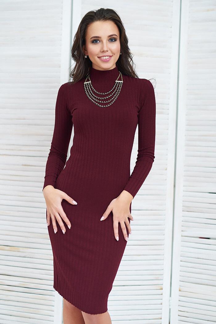 Ультрамодное платье-«чулок».