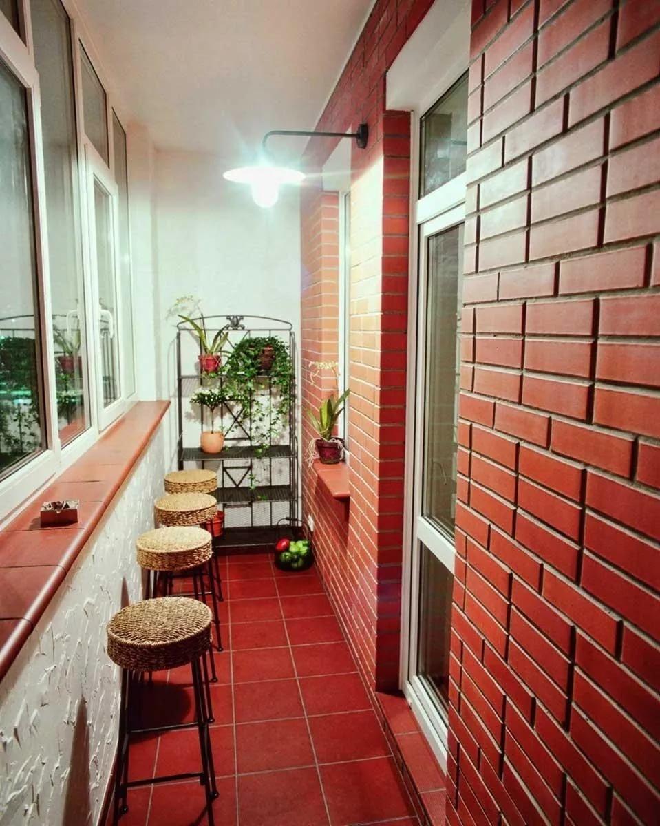 Балкон в квартире - фото примеры ярких идей для дизайна б....
