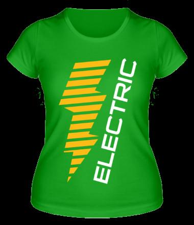 Женская футболка Electric Line