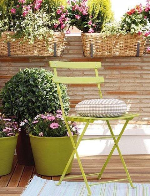 Цветы на балконе: часть 2 - оригинальные контейнеры и миксы .