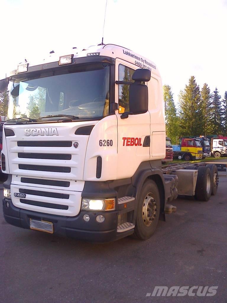 2009 Scania R480 6x2 Tanker