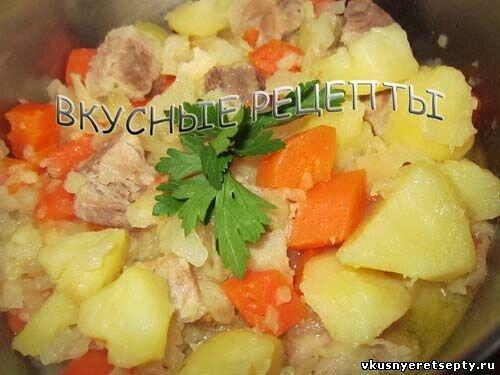 Рецепт картошки по гусарски