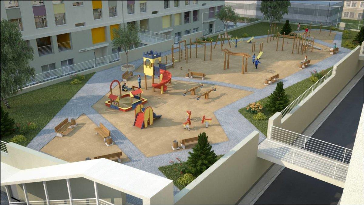 Детская площадка в Жилом комплексе юго-западный