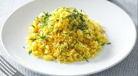 Ароматный рис с морковью