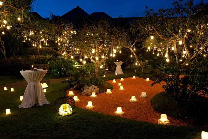 Освещение газона и растительной зоны