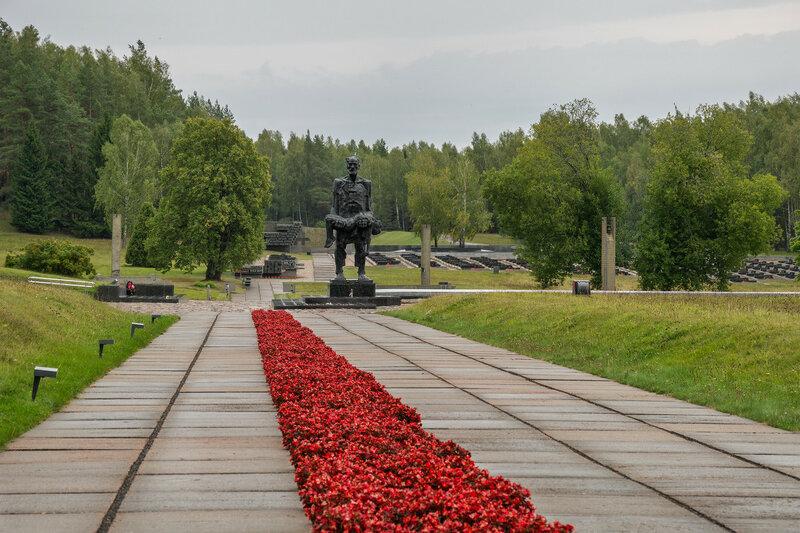 """Мемориал """"Хатынь"""". Белоруссия."""