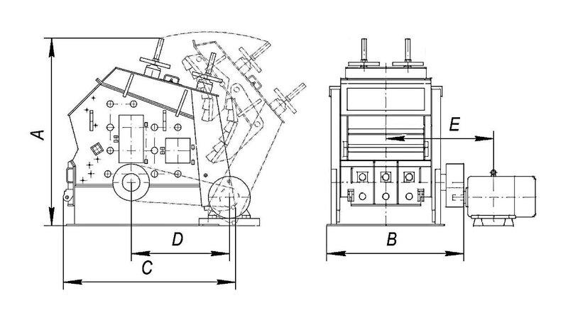 Роторные дробилки продажа молотковая дробилка для зерна в Невинномысск