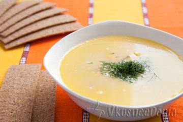 Суп пюре из замороженных кабачков