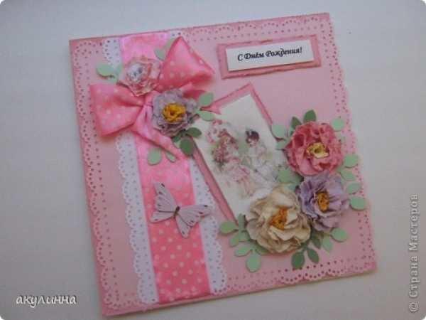 Открытка для маленькой девочки своими руками на день рождения, прикольные