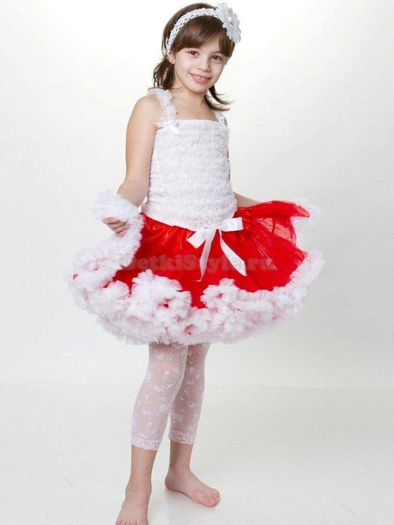 Новогодняя юбка на девочку