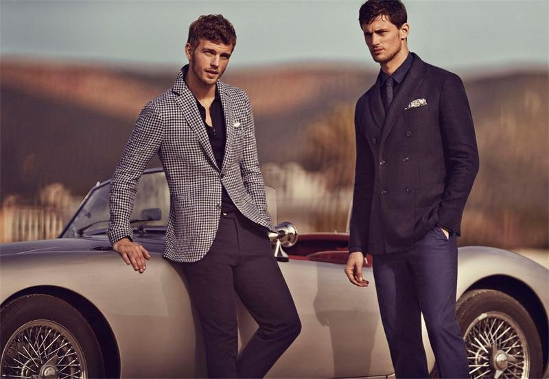 фото рекламы смешанной мужской одежды казалось, сражался
