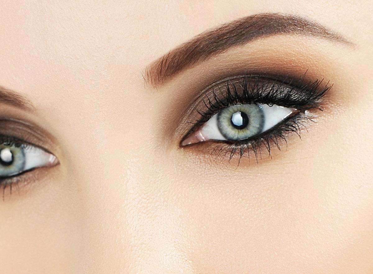 собственных картинки макияжа серо зеленых глаз искренними