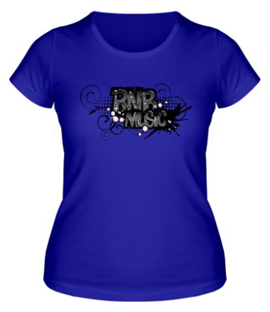 Женская футболка RNB music