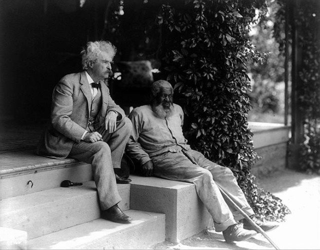 a discussion of whether mark twain was a racist or realist