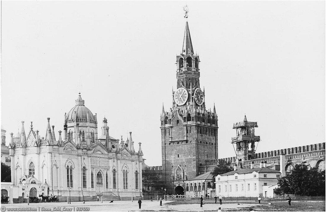 Фотография Кремля начала 20 века .