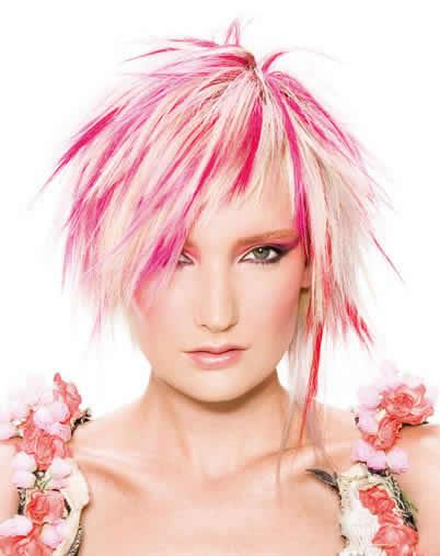 Цвет волос и стрижки