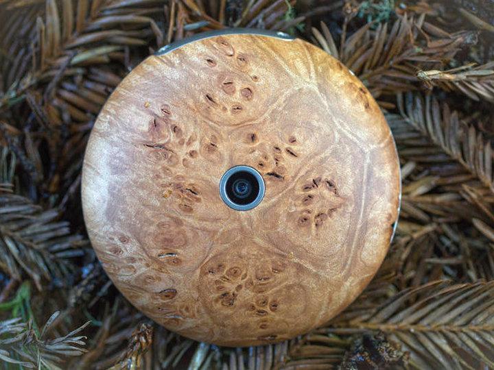 Runcible: круглый деревянный смартфон