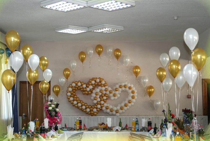 Как своими руками украсить свадьбу шарами фото 154