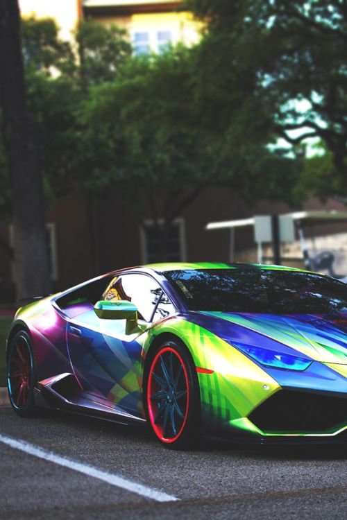 Galaxy Paint Lamborghini This Is Crazy Awesome Http