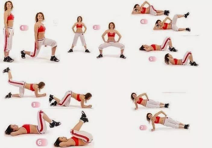 для похудения ног занятия
