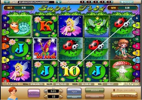 Играть в игровые автоматы супер лягушки бесплатно все сайты интернет казино