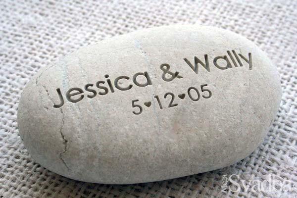 Пригласительные на свадьбу, резьба на камне