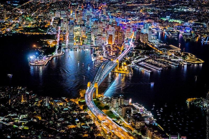 Сидней, ночь