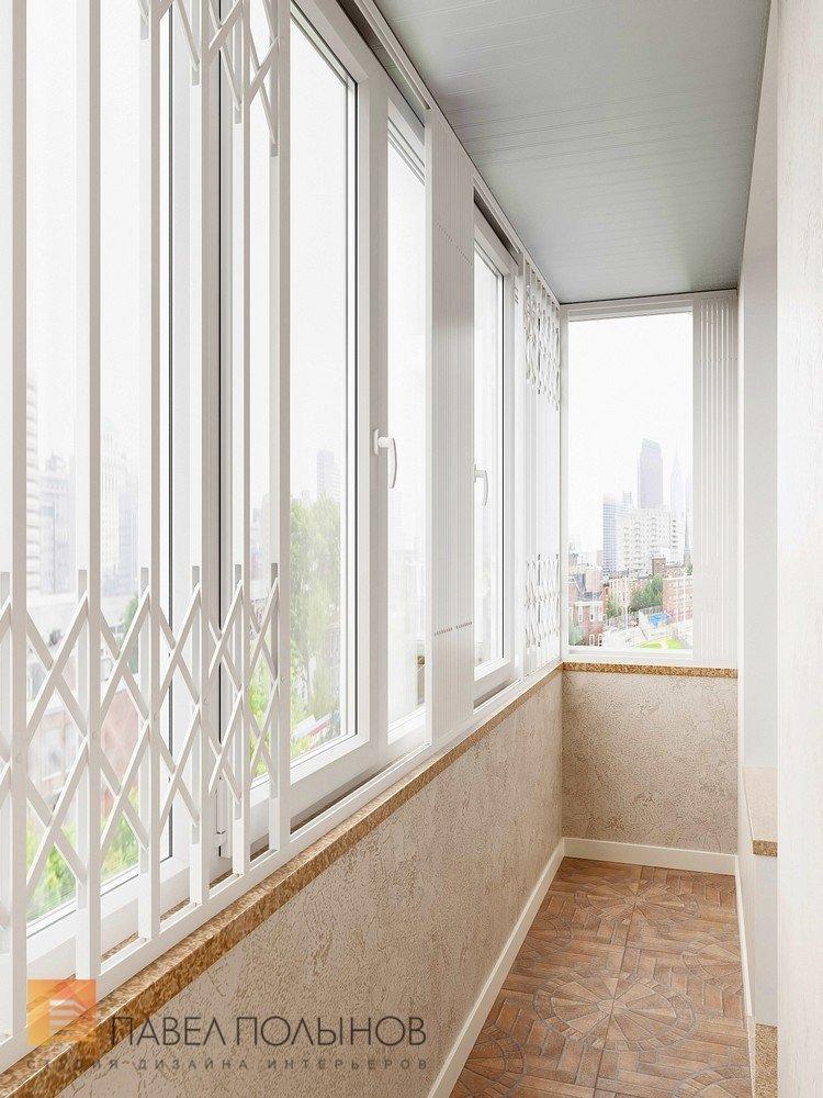 """Интерьер лоджии в проекте """"квартира в классическом стиле, жк."""