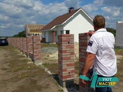 Строительство заборов для дачи и дома под ключ в Москве и