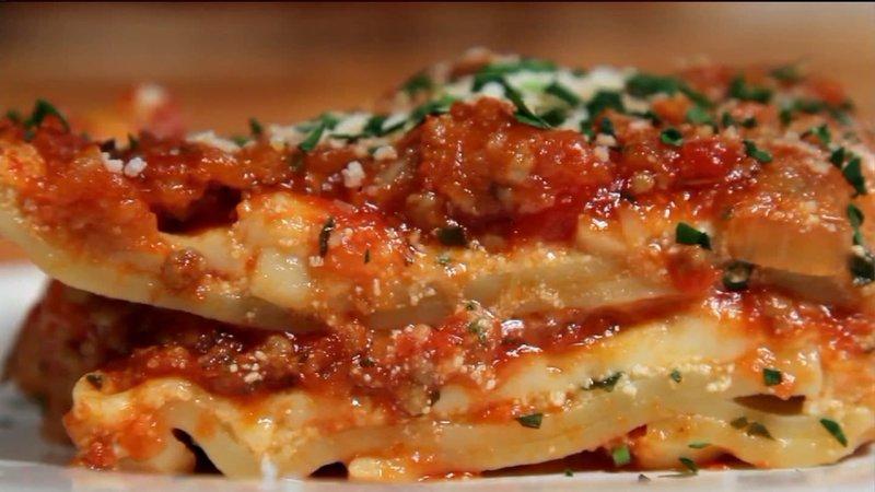 Красивые рецепты классической лазаньи