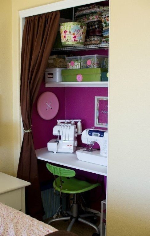 Как устроить комнату для шитья - parkneverland.ru интересные.