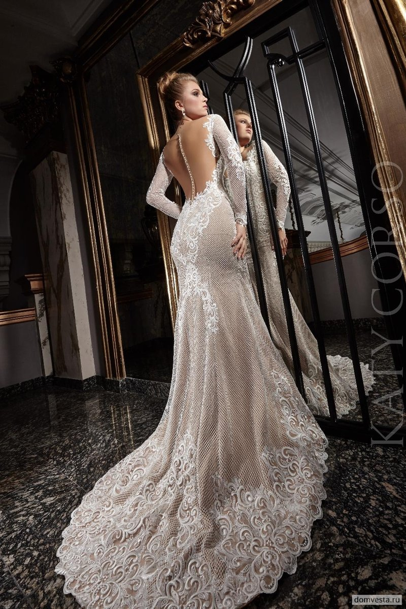 Свадебные платья katy corso