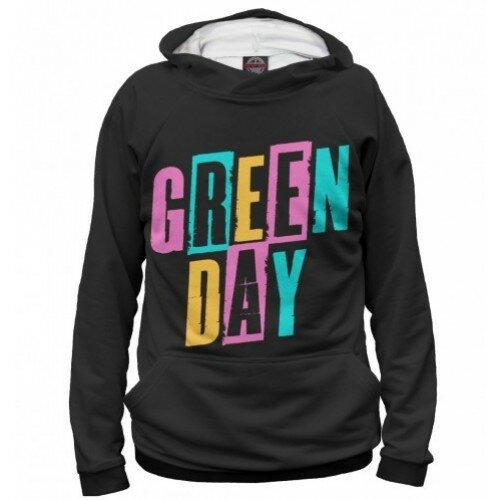 Женская толстовка 3D Green Day