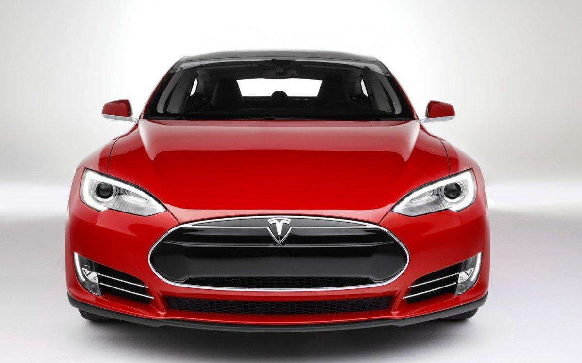ціна електромобіль tesla model s