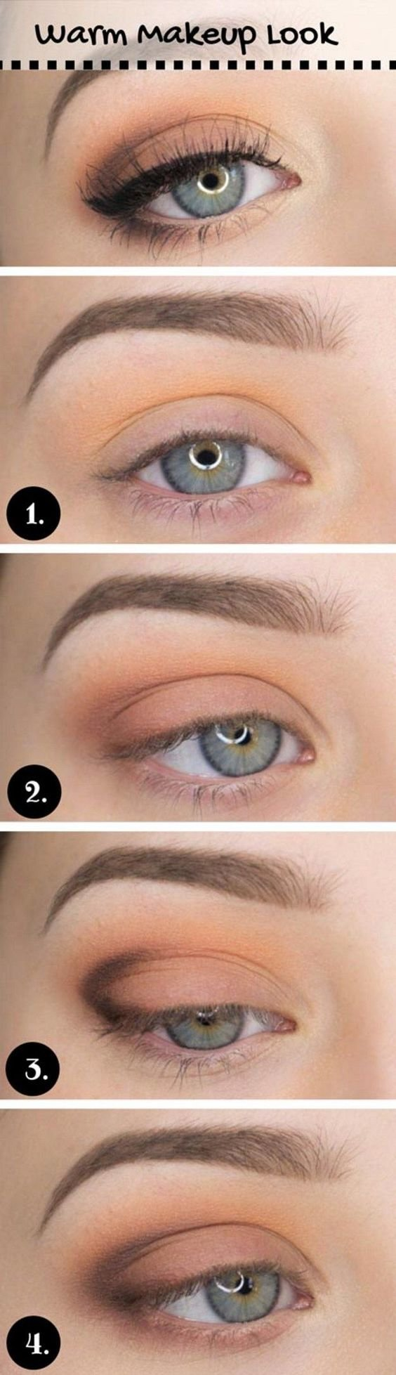 These makeup ideas will show Makeup tutorials for blue eyes make your baby blues pop! These makeup ideas will show