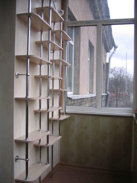 """Стеллаж на балкон с неравномерными полками"""" - карточка польз."""