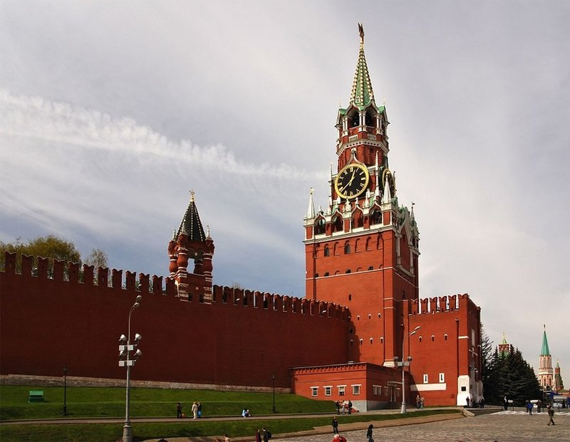 Главные достопримечательности Москвы. Куда сходить и что ... Спасская башня