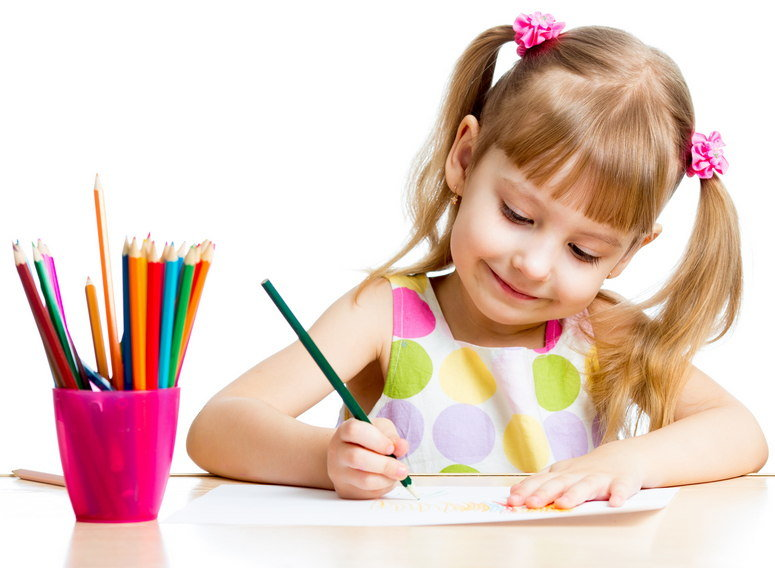 Картинки рисуют дети
