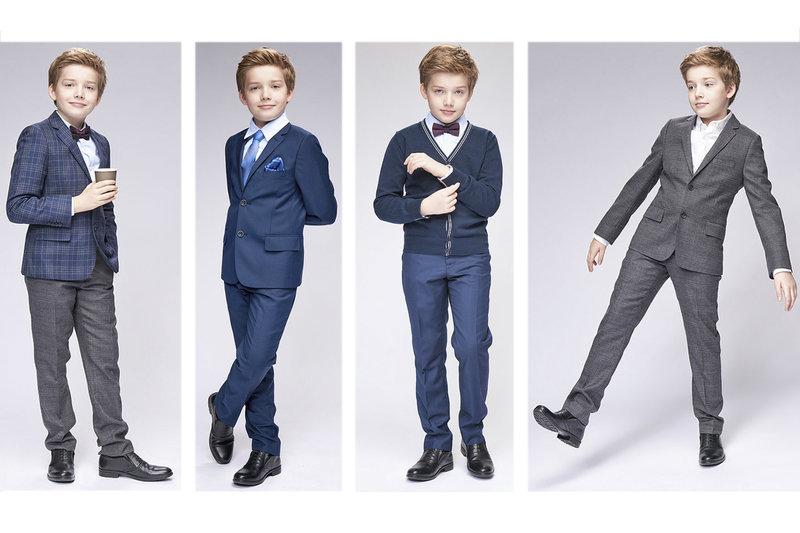 И в школьной форма ты можешь быть модным маленьким джентельменом