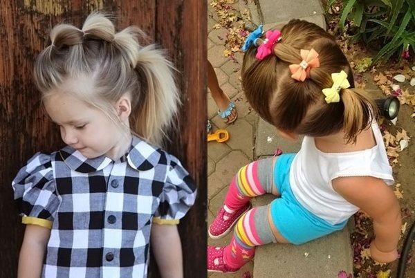 Модные короткие стрижки стрижки на короткие волосы  главное, чтобы причёска вашей дочери была детской.