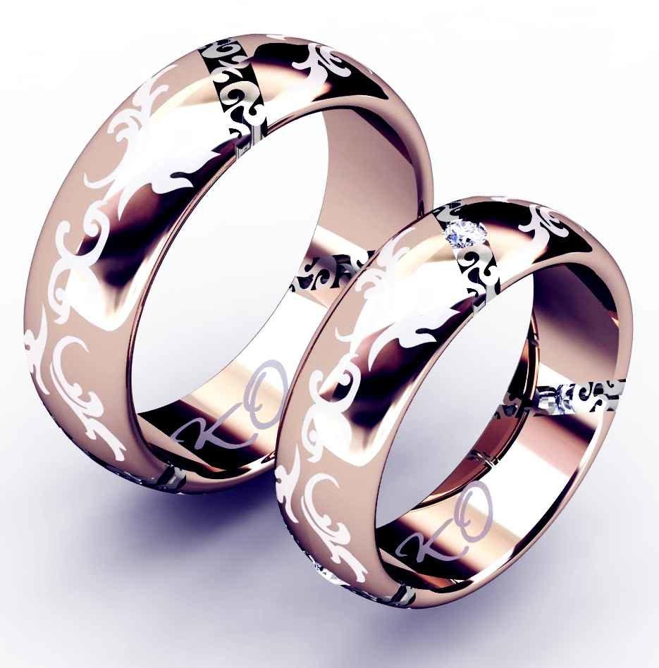 посаженные необычные обручальное кольца с картинками цвет вдохновения