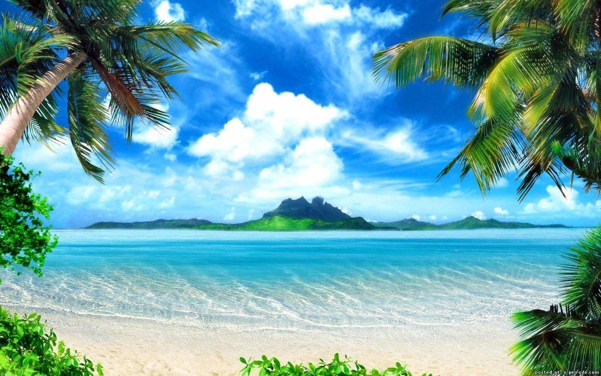 Солнце пляж красивые 44