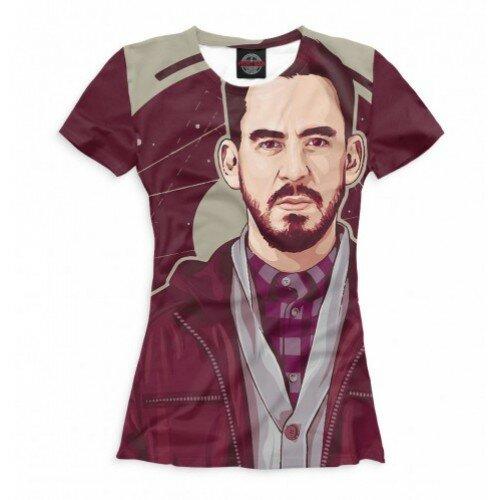 Женская футболка 3D Майк Шинода