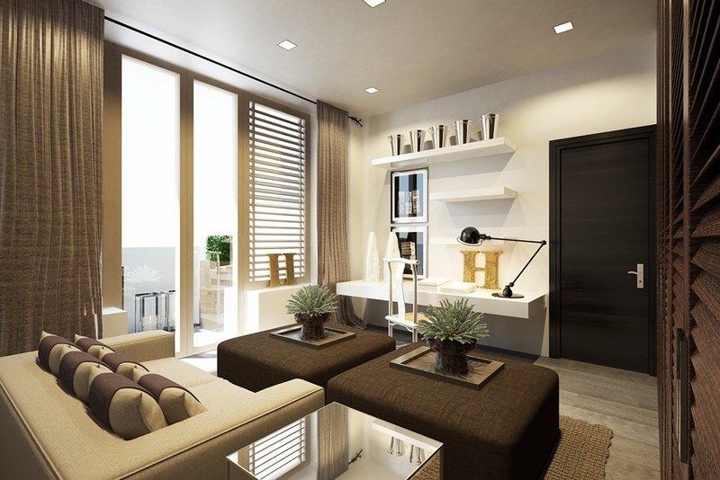 Barkli Virgin House» — Интерьеры Kelly Hoppen «Barkli Virgin House» — интерьеры. Примеры жилых зон: гостиные, кухни  спальни «