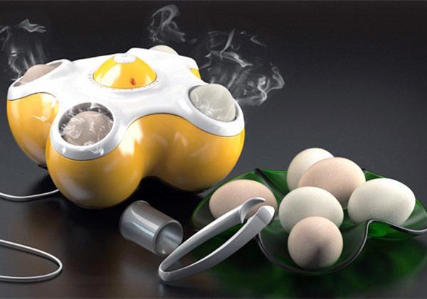 Тостер для яиц поможет не отвлекаться от утренних сборов на работу и приготовит вкусный полезный завтрак
